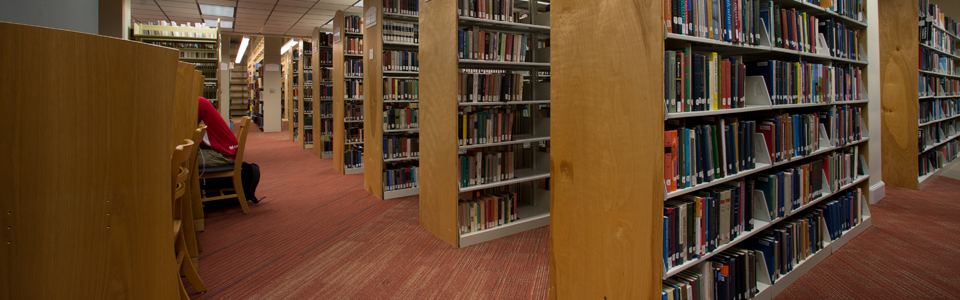 Banner for About the Library